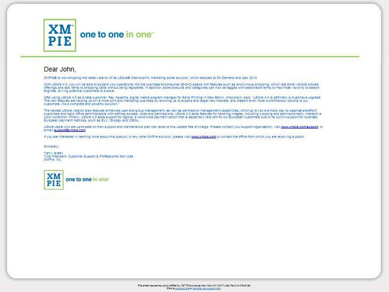 Email_XMPie